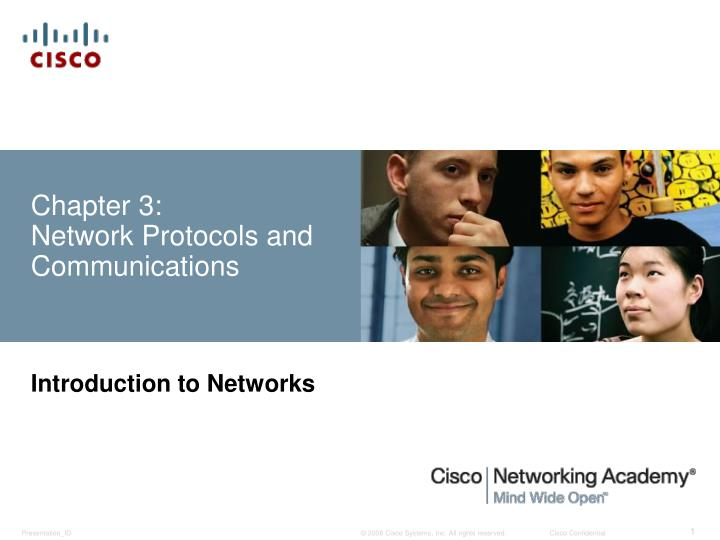 chapter 3 network protocols and communications