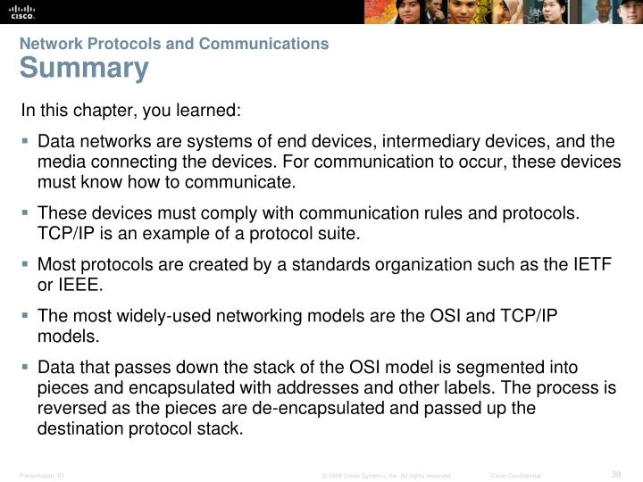 Network Protocols and Communications