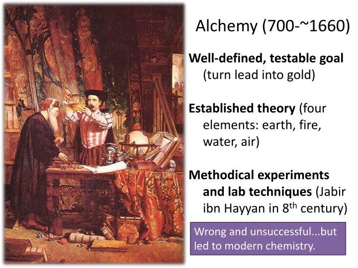 Alchemy (700-~1660)