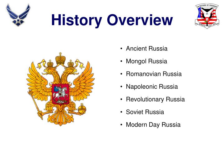History Overview