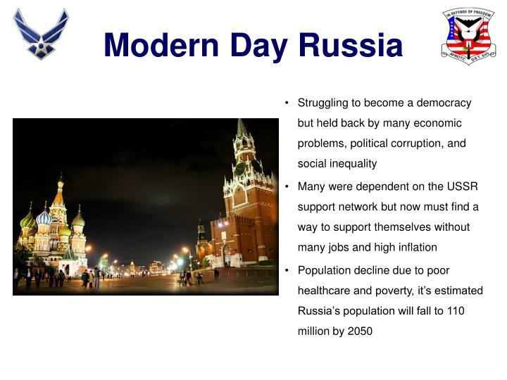 Modern Day Russia