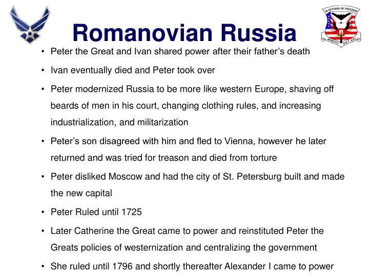 Romanovian Russia