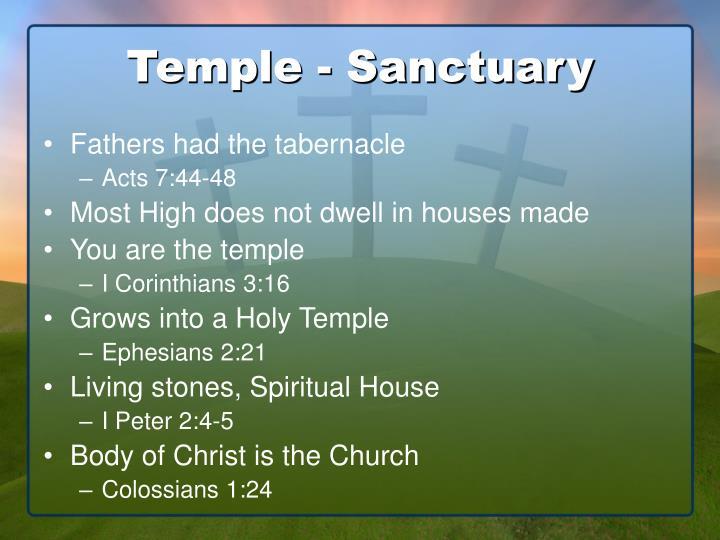 Temple - Sanctuary