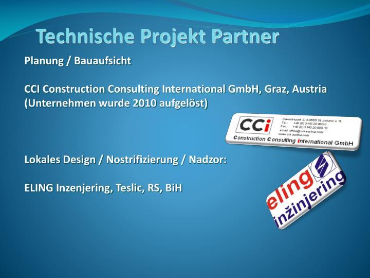 Technische Projekt Partner