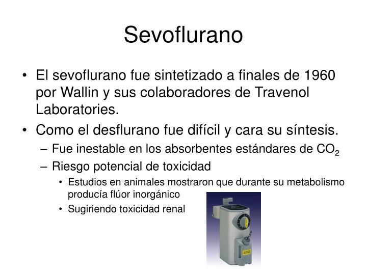 Sevoflurano