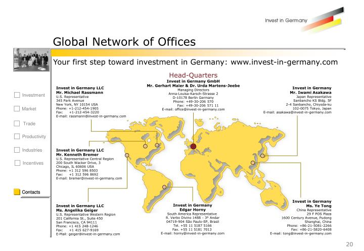 Global Network of Offices
