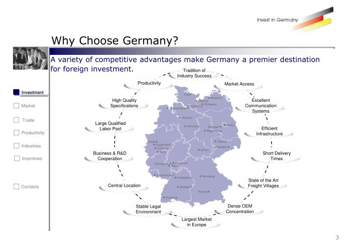 Why choose germany