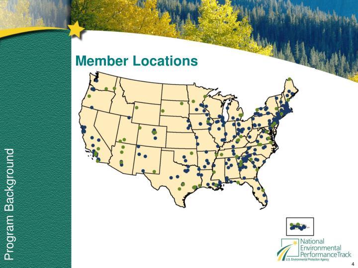 Member Locations