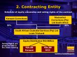 2 contracting entity
