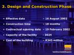 3 design and construction phase