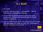 4 1 staff