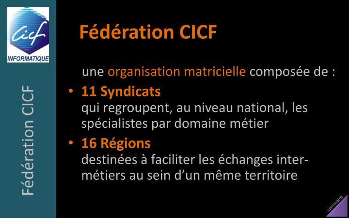 Fédération CICF