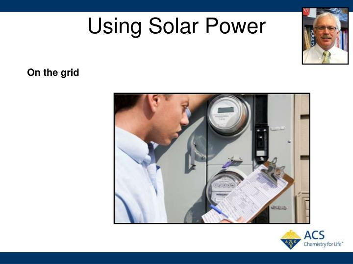 Using Solar Power