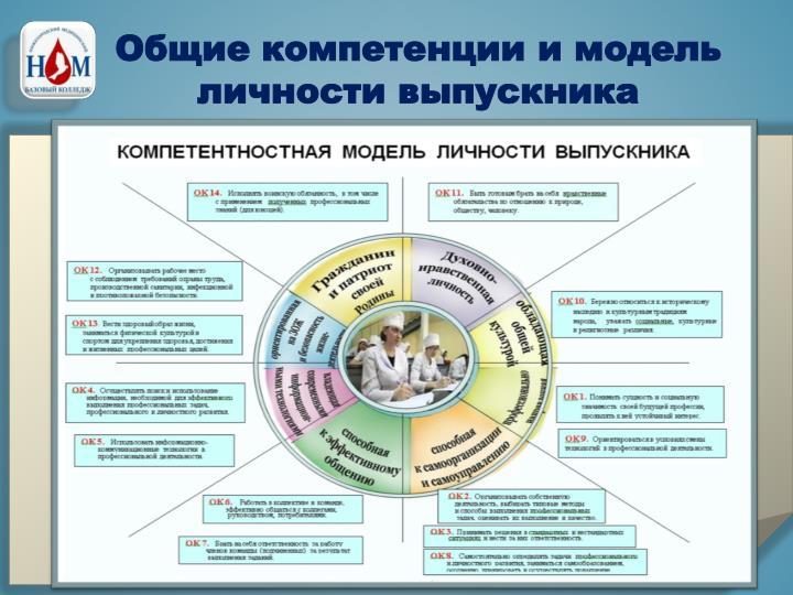Общие компетенции и модель