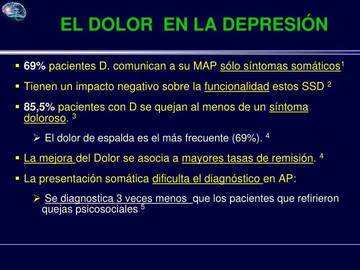 EL DOLOR  EN LA DEPRESIÓN