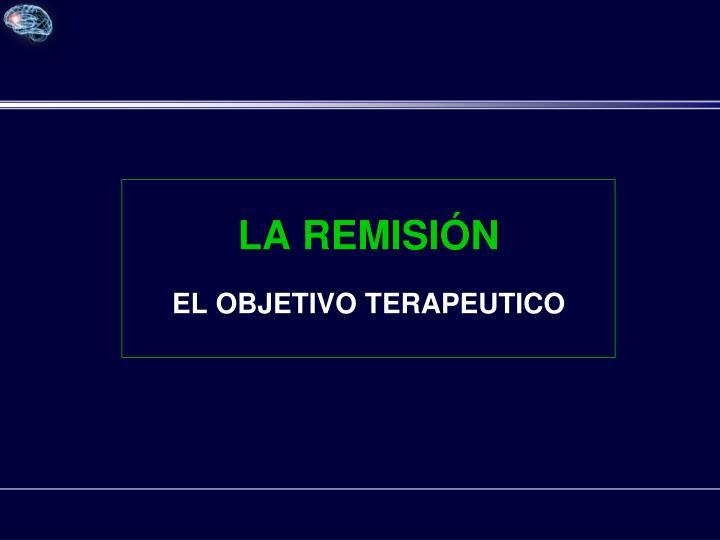 LA REMISIÓN