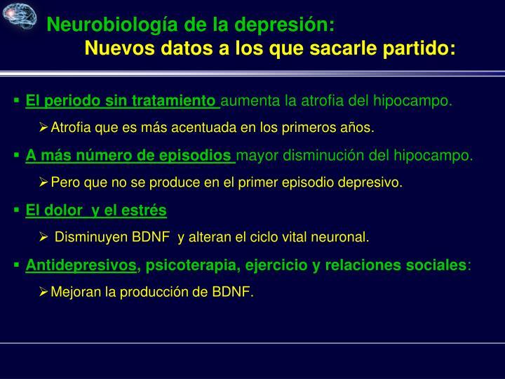 Neurobiología de la depresión: