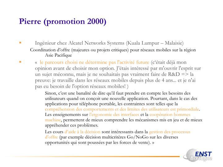 Pierre (promotion 2000)