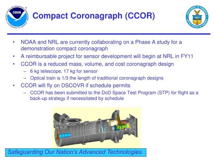Compact Coronagraph (CCOR)