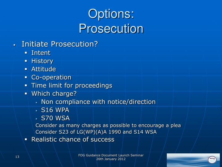 Options:
