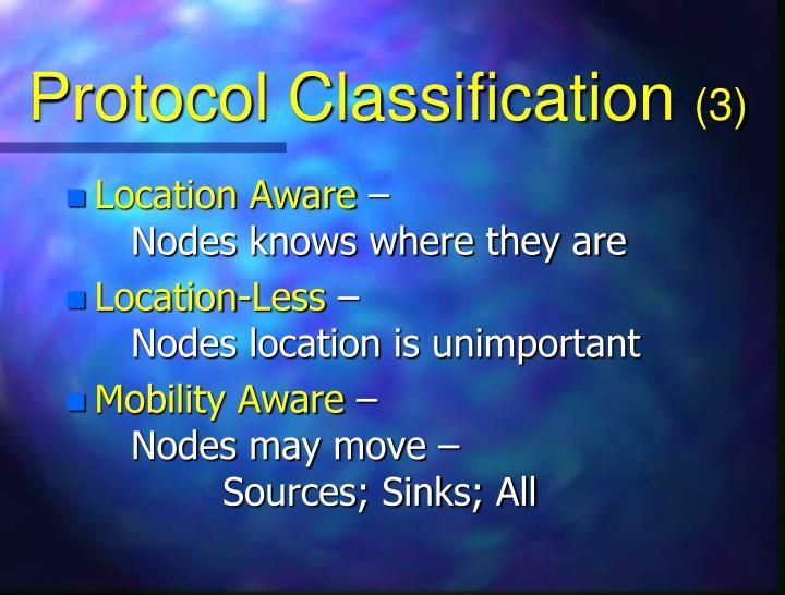 Protocol Classification