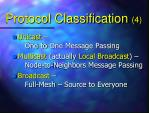 protocol classification 4