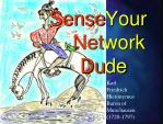 sense your net work du de