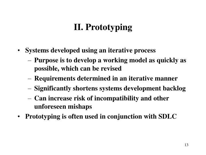 II. Prototyping