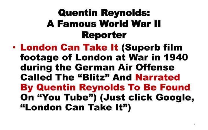 Quentin Reynolds: