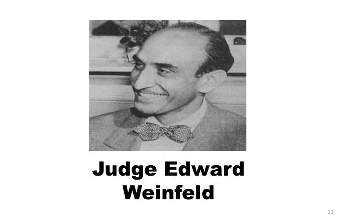 Judge Edward Weinfeld