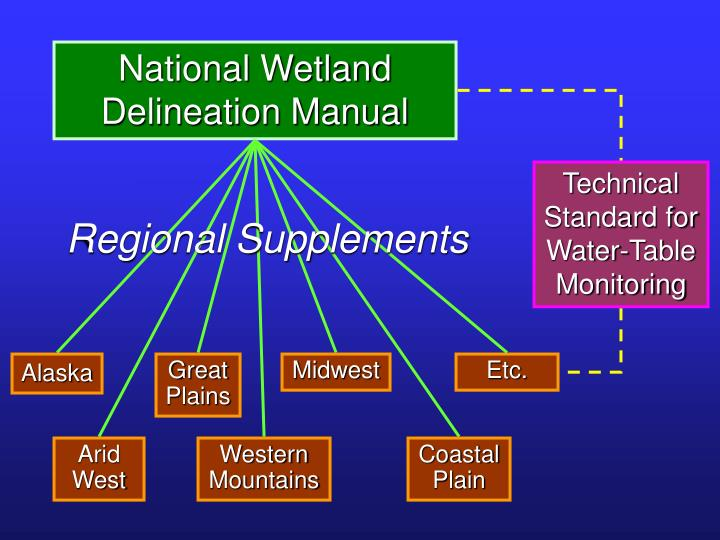 National Wetland Delineation Manual