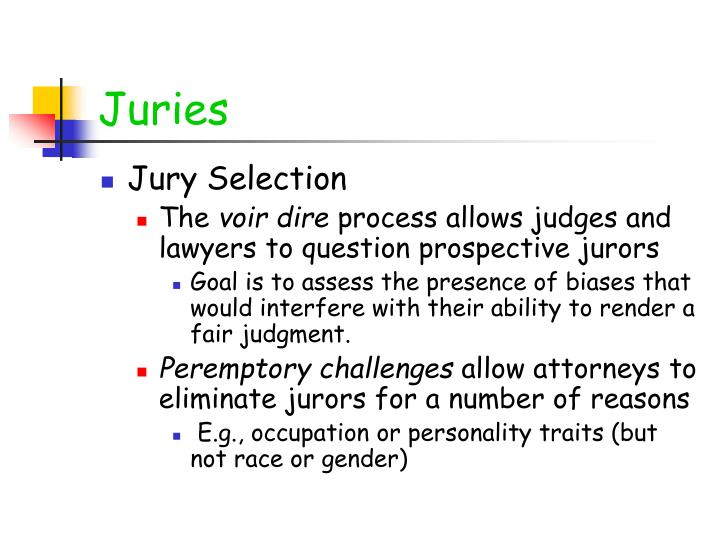 Juries