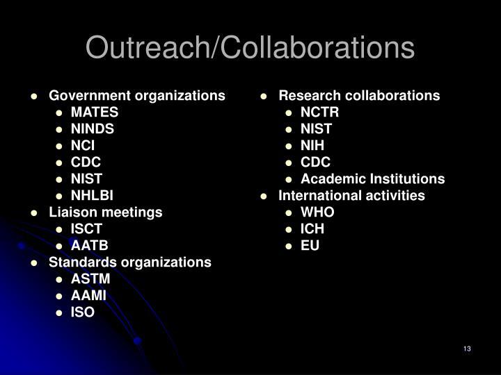 Government organizations