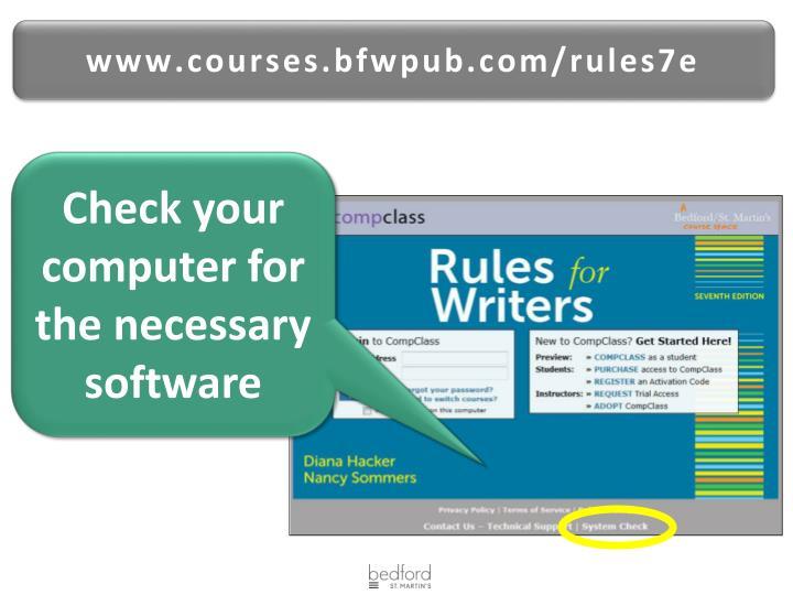 www.courses.bfwpub.com/rules7e