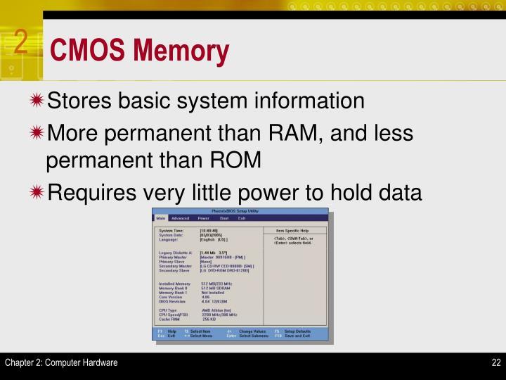 CMOS Memory