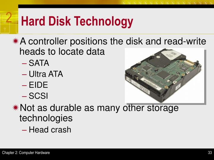 Hard Disk Technology