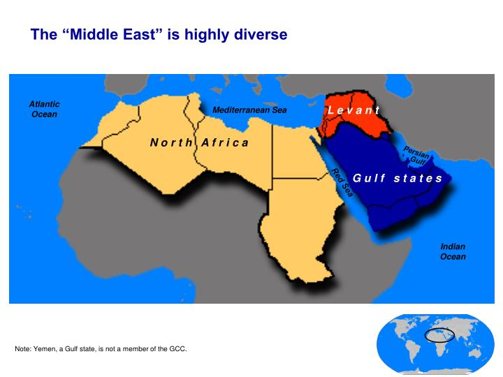 "The ""Middle East"" is highly diverse"
