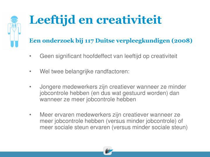 Leeftijd en creativiteit