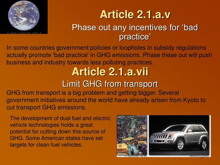 Article 2.1.a.v