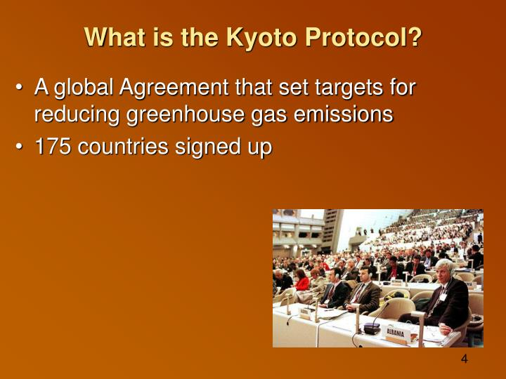 What is the Kyoto Protocol?