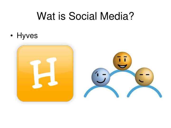 Wat is Social Media?