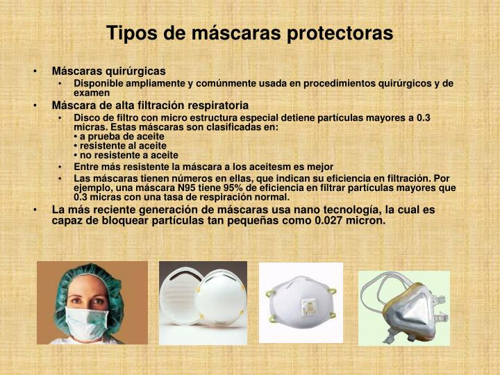 Máscaras quirúrgicas