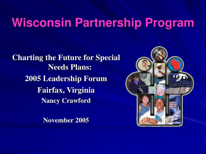 Wisconsin Partnership Program