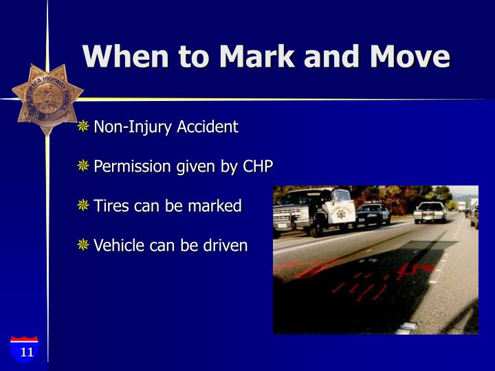When to Mark and Move