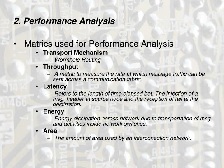 2. Performance Analysis