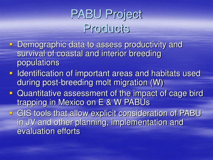 PABU Project
