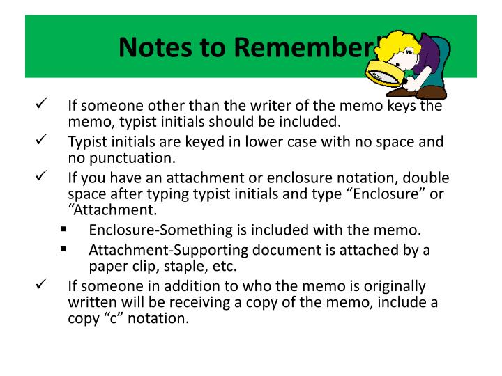 Notes to Remember!