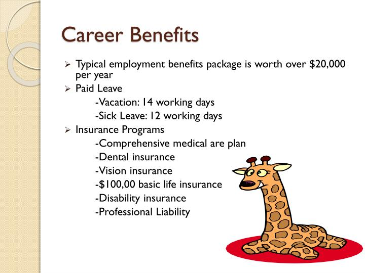Career Benefits