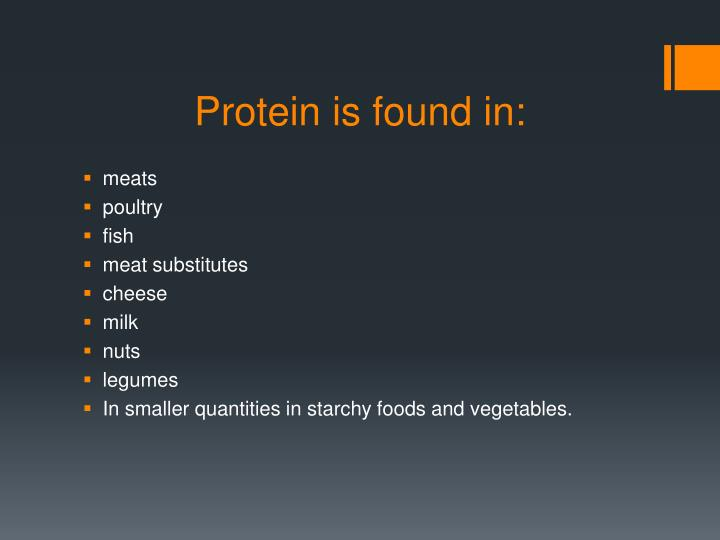 Protein is found in: