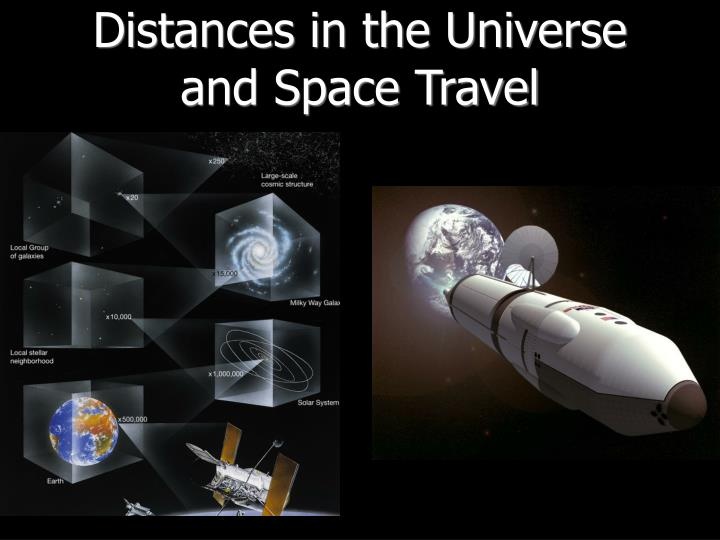 Distances in the Universe and Space Travel
